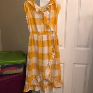 Girls wrap midi dress by Old Navy- girls sz 14